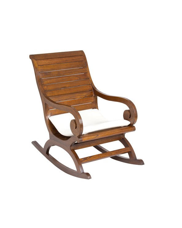 Slat rocking chair