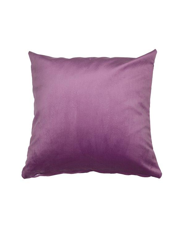 Coxín Velvet rosa 45x45 cm