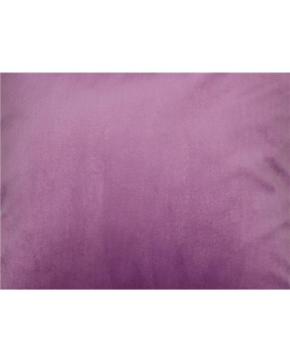 Velvet cushion pink 45x45 cm