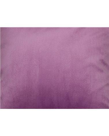 Cojín Velvet rosa 45x45 cm