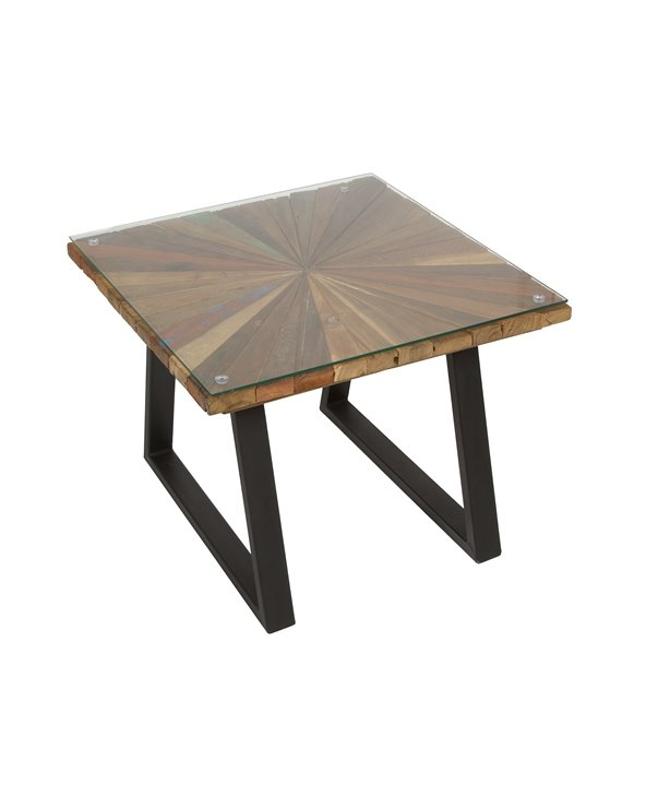 Sun square coffee table