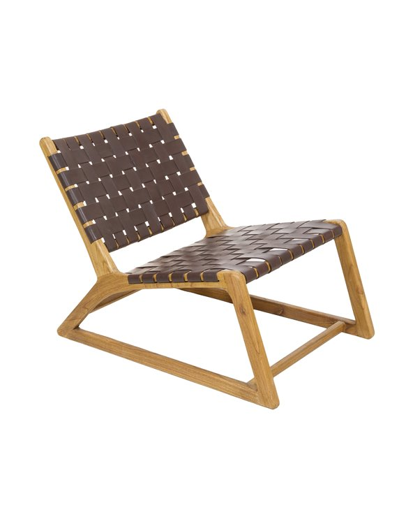 Cadeira de brazos Tony escuro