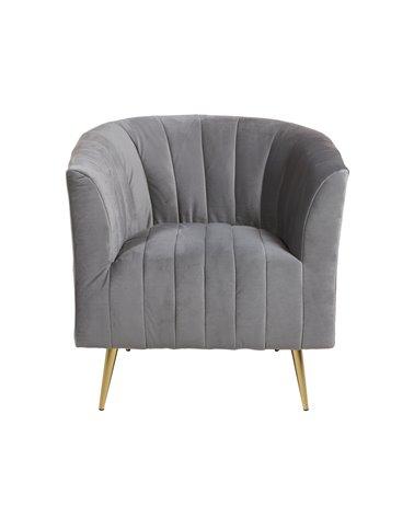 Gray armchair Deco