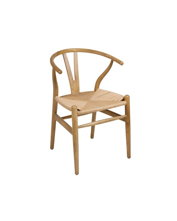 Elm chair natural