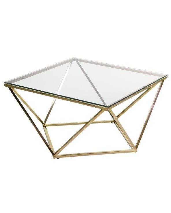 Mesa de centro Pris oro