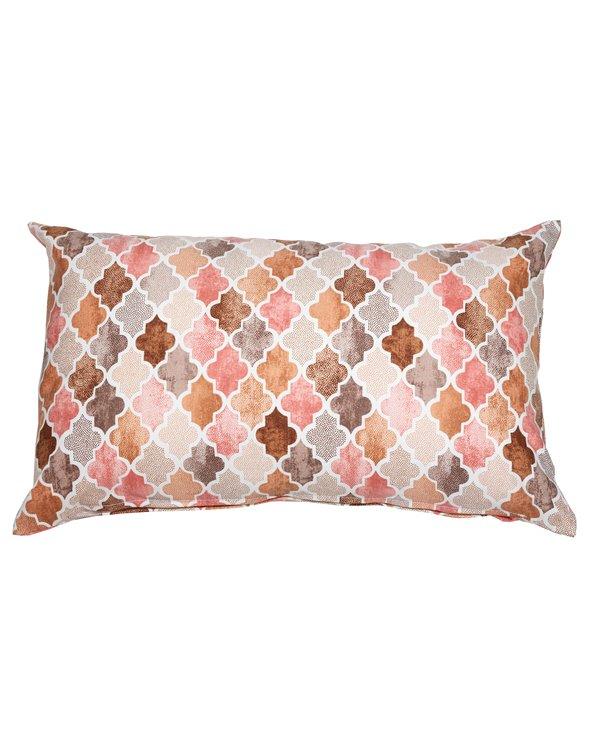 Notre Damme salmon cushion 30x50 cm