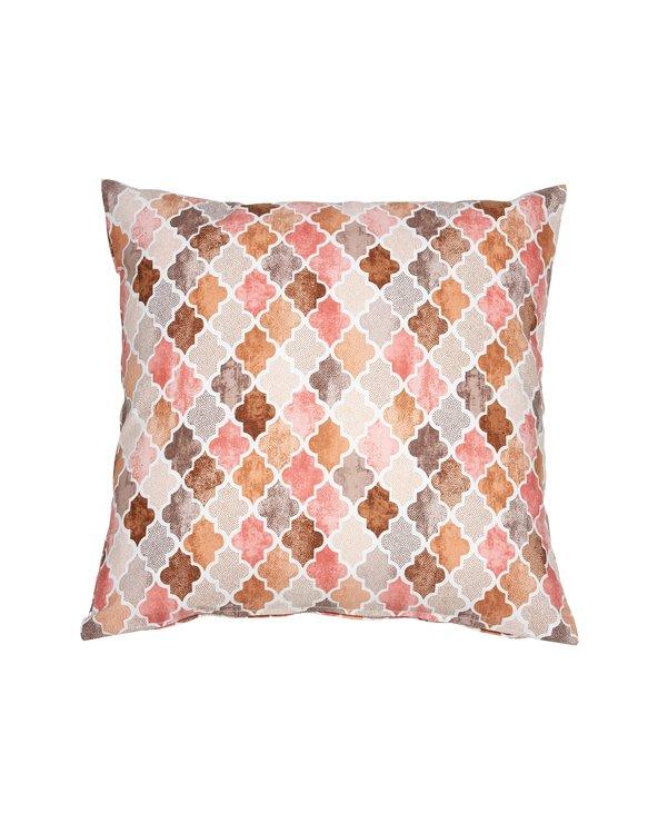 Notre Damme salmon cushion 45x45 cm