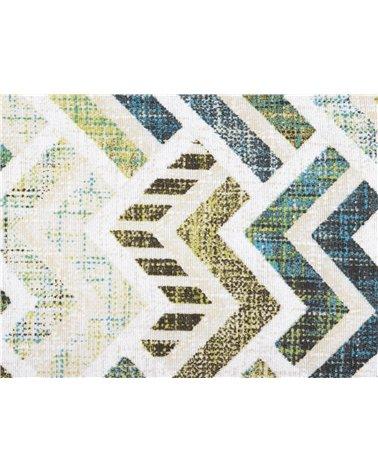 Turquoise Coordinated Damero Cushion 30x50 cm