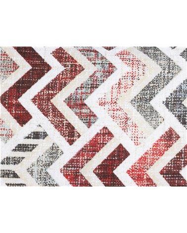 Coixí Damero coordinat Rojo 30x50 cm