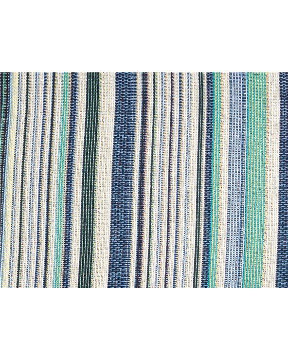 Swiss cushion blue stripe 30x50 cm