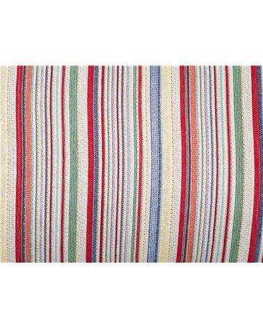 Swiss cushion red stripe 30x50 cm