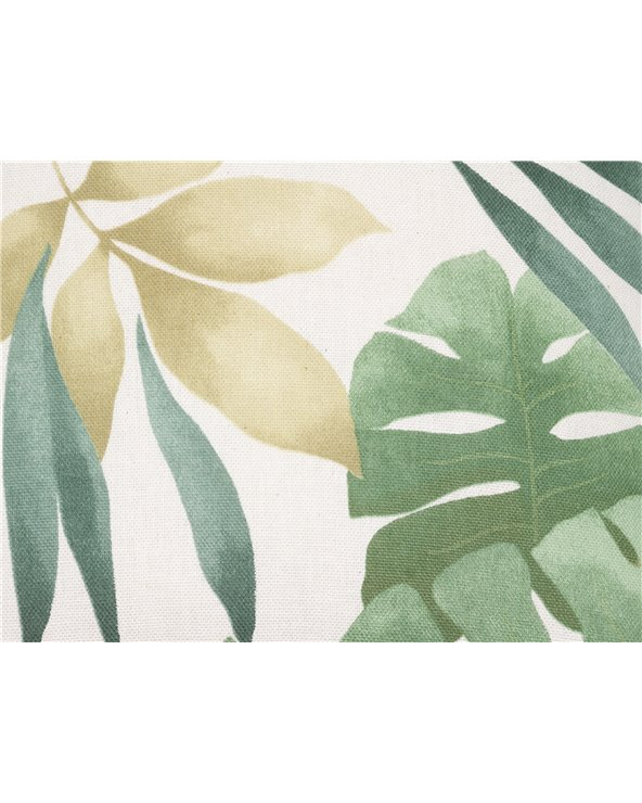 Coxín Bohemian verde 45x45 cm