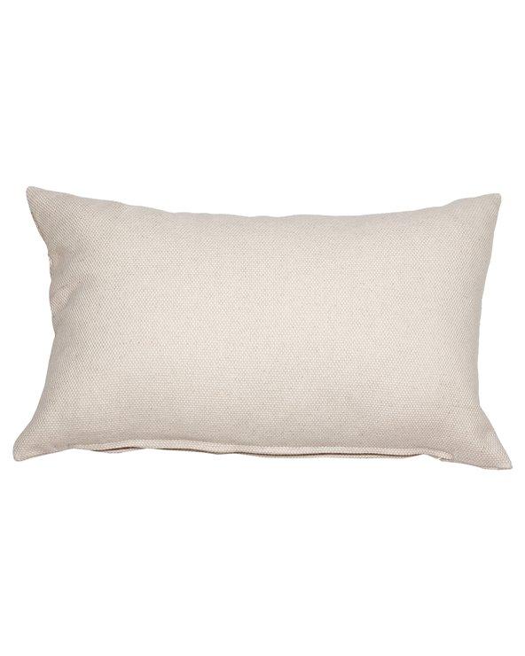 Cuscino di canapa beige 30x50 cm
