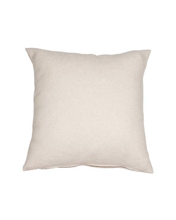 Coxín Hemp beige 45x45 cm