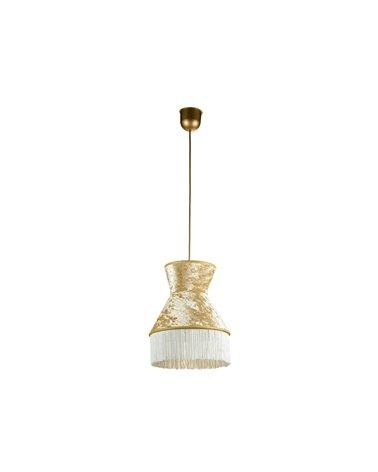 Lámpara de techo Cancán blanca 25x25 cm