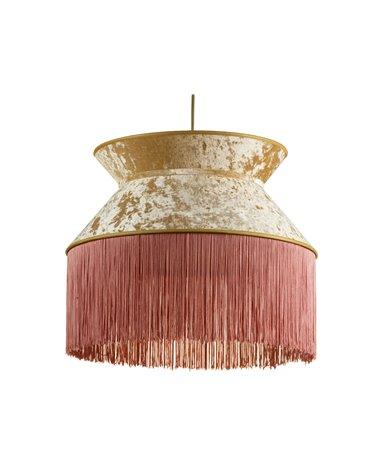 Lámpara de techo Cancán rosa 45x45 cm