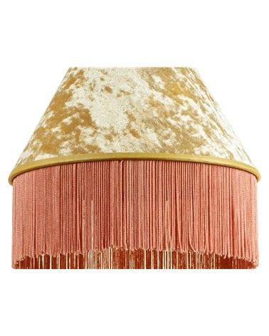 Lámpara de techo Cancán rosa 25x25 cm