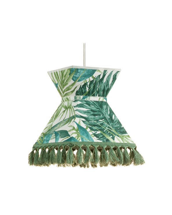 Green Palm trees ceiling lamp 20x20 cm