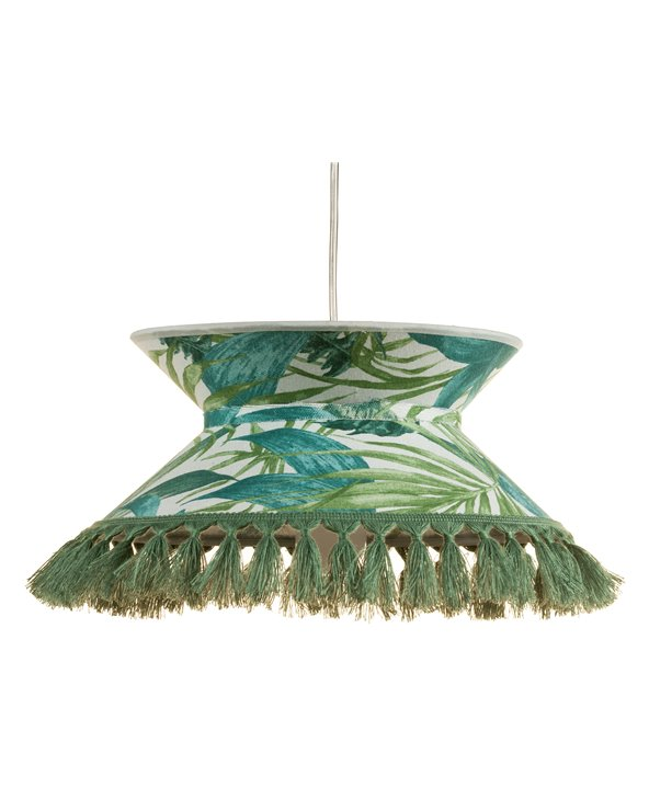 Green Palm trees ceiling lamp 30x30 cm