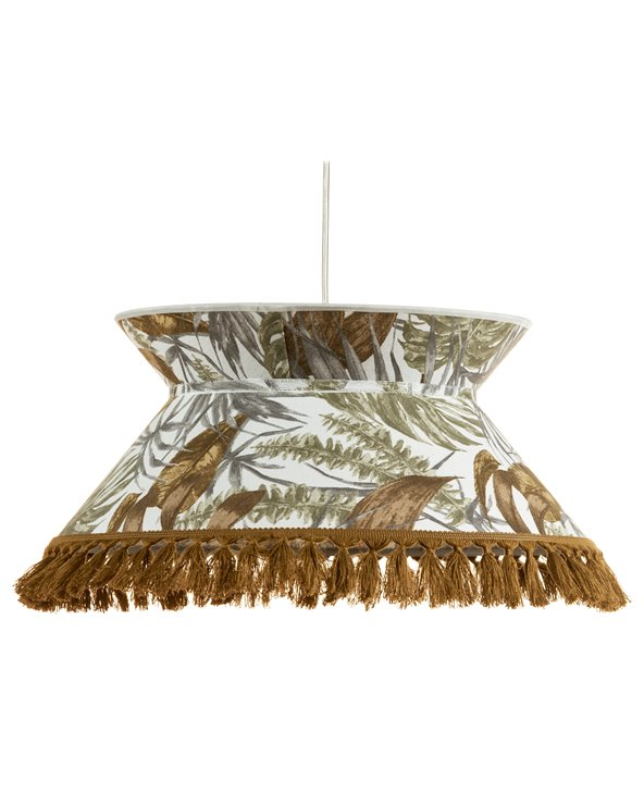Brown Palm trees ceiling lamp 45x45 cm