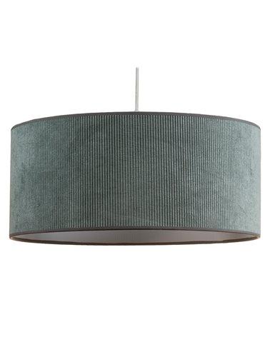 Llum de sostre pana verda 45x45 cm