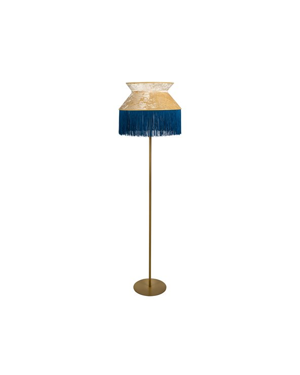 Blue Cancan floor lamp