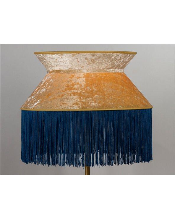 Lámpada de pé Cancán azul