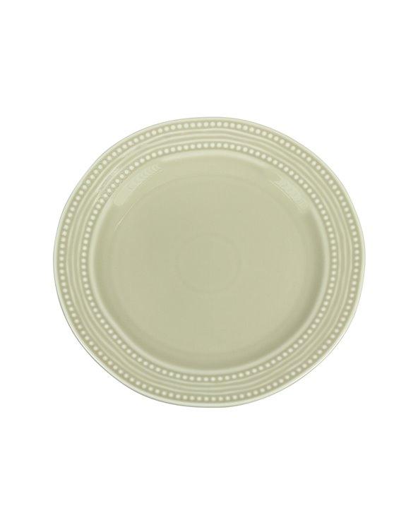 Assiette beige Abitare