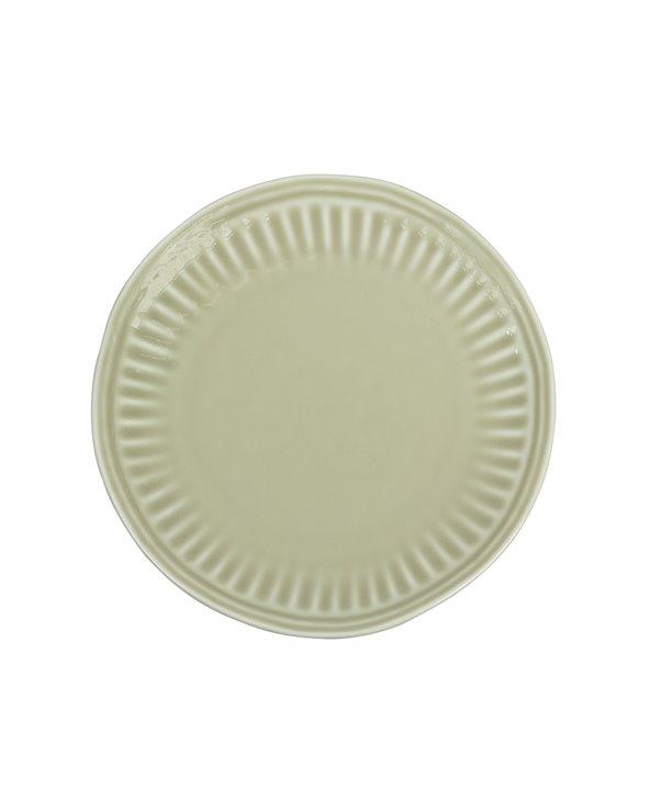 Assiette à dessert beige Abitare