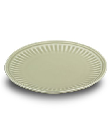 Abitare beige dessert plate