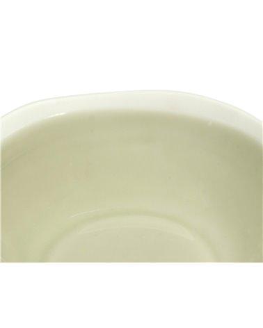 Abitare beige deep plate