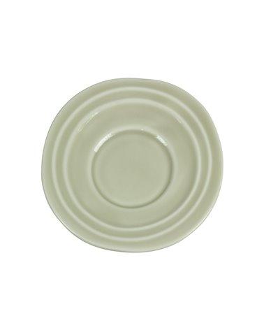 Tassa amb plat Abitare beix