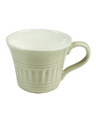 Abitare beige cup with saucer 10x8x6 cm