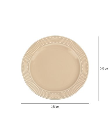 Abitare pink plate
