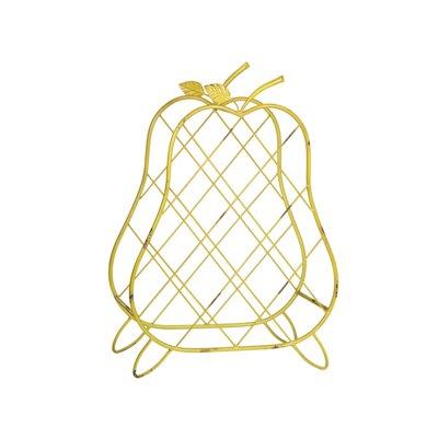 Metal wine basket