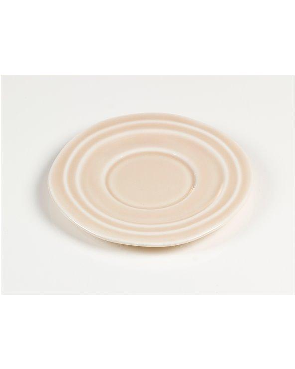 Tassa amb plat Abitare rosa