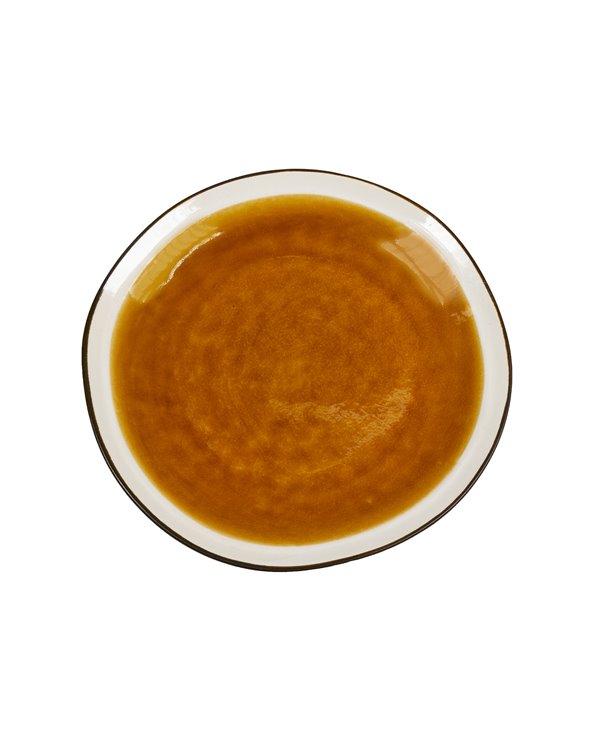 Piatto da dessert senape Abitare