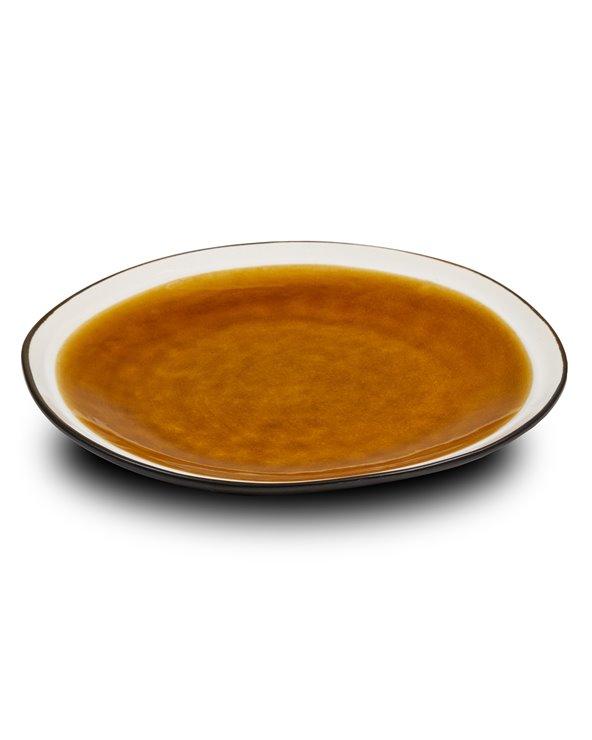 Prato de sobremesa Abitare mostaza