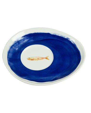 Set de 2 tazas con plato Bord de Mer