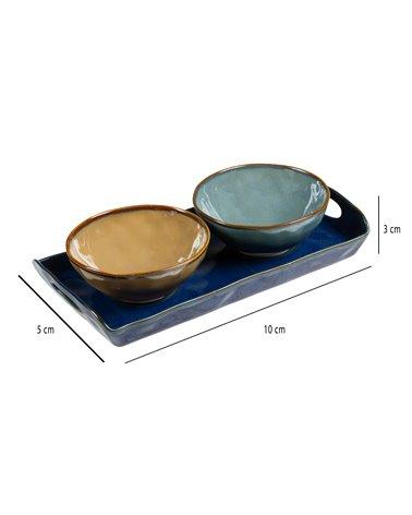2 bols amb safata Interiors