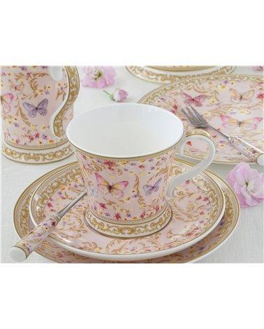 Taza con plato Majestic