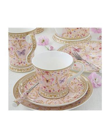 Set de 2 tasses amb plat Majestic