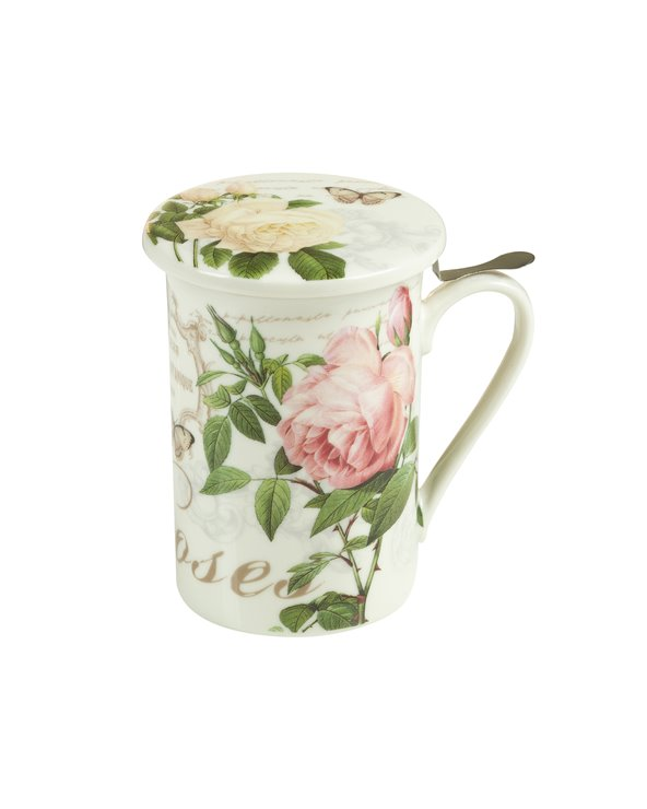 Infusion cup with lid and filter Garden