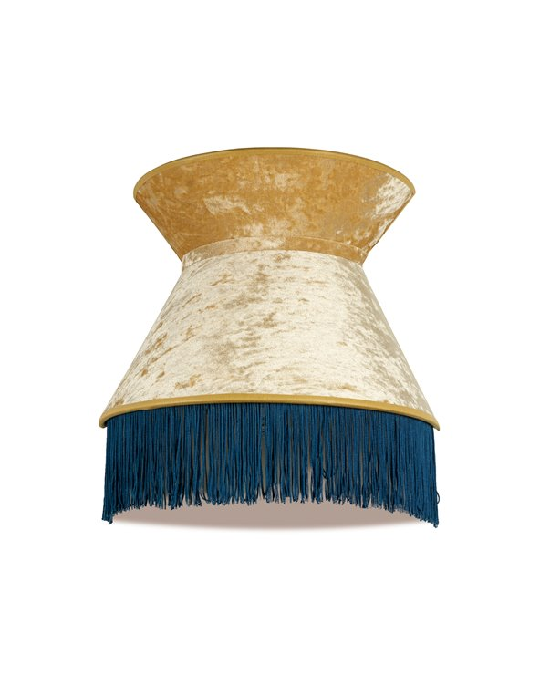 Blue Cancan wall light