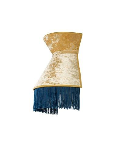 Lámpada aplique de parede Cancán azul