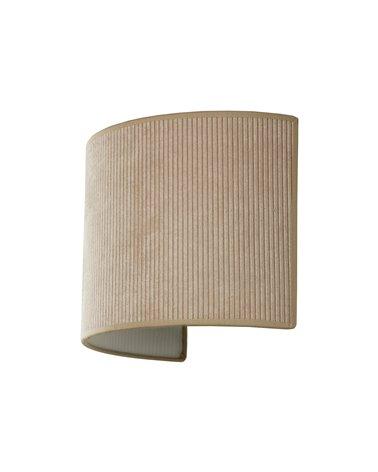 Lámpara aplique de pared Pana arena