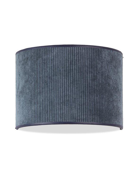 Lámpada aplique de parede Pana azul