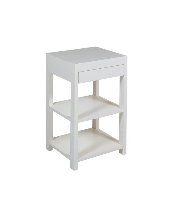 Mesa auxiliar branca