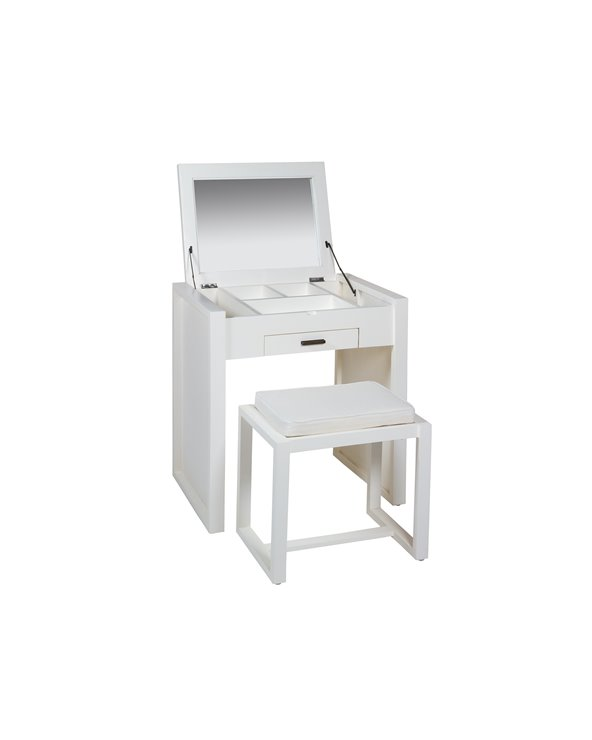 Dressing table with table stool