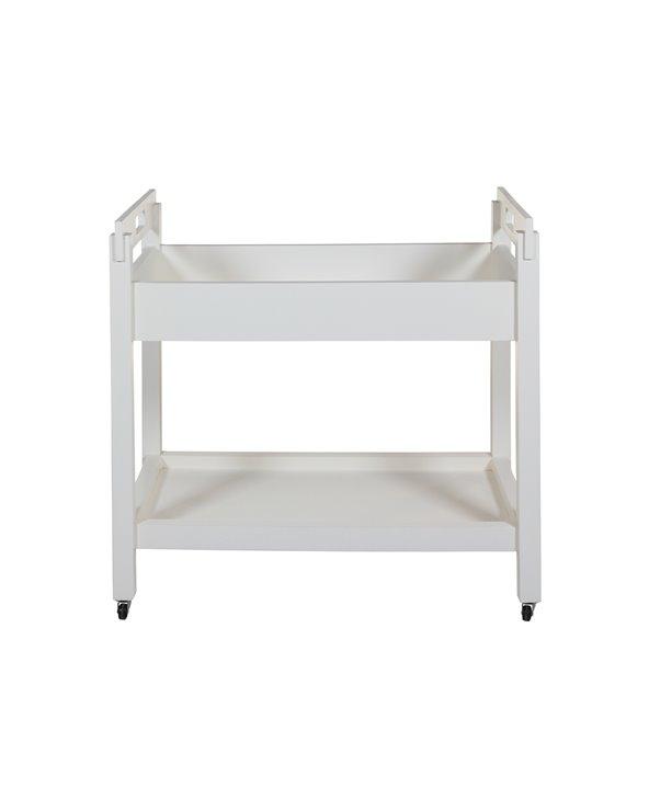 Carret - Cambrera amb rodes blanca